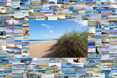 Seascapes in France Stock Photography