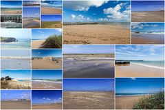 Seascapes in France Stock Image