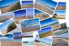Seascapes in France Royalty Free Stock Images