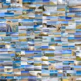 Seascapes in France Stock Photo