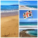 Seascapes of western Sardinia Stock Photography