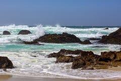 Seascapesikt av Stilla havet Royaltyfri Bild