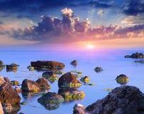 seascapesommar royaltyfri foto