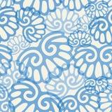 seashell картины безшовный Стоковые Изображения RF