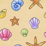 Seashell Background Royalty Free Stock Image