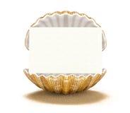 Seashell-card Royalty Free Stock Photo