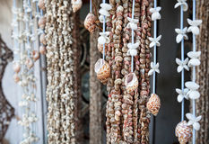 Seashell decorations Royalty Free Stock Photography