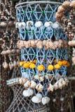 Seashell decorations Stock Photography