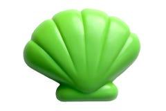 Seashell en plastique de jouet Images stock