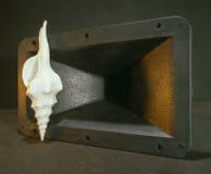 seashell głośnika Zdjęcia Stock