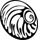 Seashell icon Stock Images