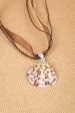 Seashell Necklace #1 Stock Photos