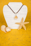 Seashell Necklace #12 Royalty Free Stock Images