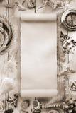 Seashell  on wooden background Stock Photos