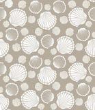 Seashell wzór Zdjęcia Royalty Free