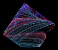 Seashell & x28; w cyfrowym world& x29; Obraz Stock