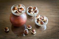 Seashells chocolates royalty free stock photo