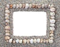 Seashells Frame Royalty Free Stock Photography
