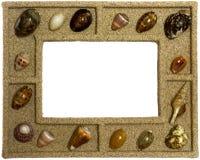 Seashells frame Stock Images