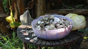 Seashells, Phu Quoc island, Kien Giang province, Vietnam. Basket of seashell, Phu Quoc island, Kien Giang province, Vietnam. Phu Quoc is blessed with favourable stock video footage