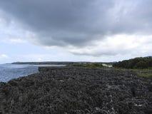Seashore в Индонезии стоковые изображения rf