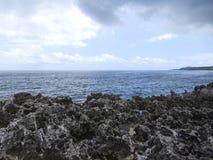 Seashore в Индонезии стоковое изображение