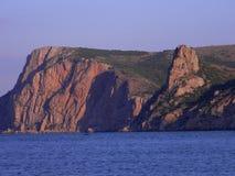 seashore в раннем утре стоковые фотографии rf