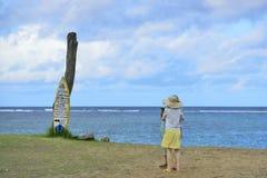 Seashore в Seminyak, Бали Стоковое Изображение