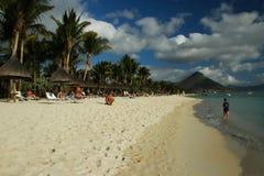 seashore Маврикия Стоковые Изображения