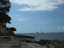 Seashore Мальорка Стоковые Изображения