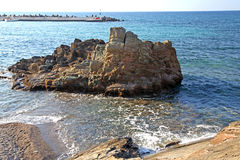 Seashore на Крите стоковое фото rf