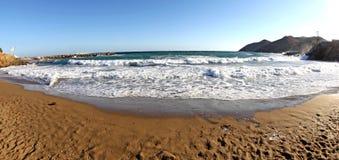 Seashore на Крите стоковое изображение
