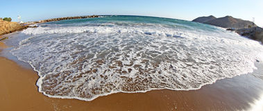 Seashore на Крите Стоковые Фото