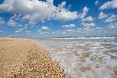 At the seashore Royalty Free Stock Photography