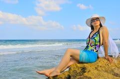 On the seashore Stock Photography