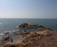 Seashore. Of the Arabian Sea at March Stock Photos