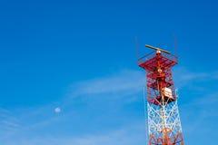 Seashore Beacon in Morning Royalty Free Stock Photo