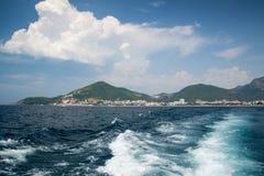 Seashore in Becici, Montenegro Stock Photos