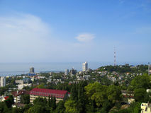Seashore of the Black sea. Stock Photography