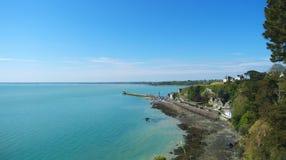 Seashore of Bretagne Stock Photos