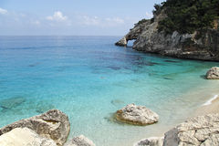 Seashore cala goloritze Royalty Free Stock Photo