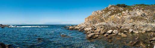 Seashore at Cies islands Royalty Free Stock Photos