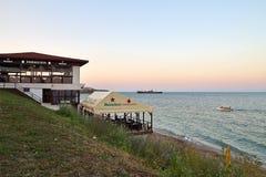 Seashore in Costinesti, Romania Royalty Free Stock Image