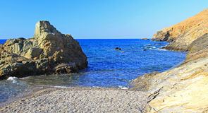 Seashore at Crete royalty free stock photo