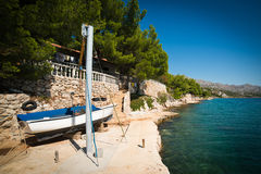 Seashore in Croatia Stock Photos