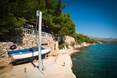 Seashore in Croatia Stock Photos