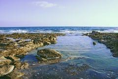 Seashore Cyprus Royalty Free Stock Image