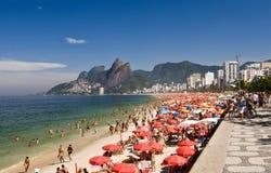 Seashore de Rio de Janeiro Fotografia de Stock