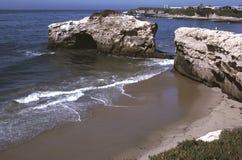 Seashore de Santa Cruz fotografia de stock royalty free