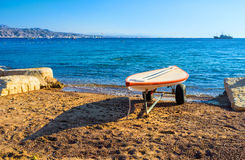 The seashore of Eilat Royalty Free Stock Images